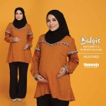 BALQIS NURSING BLOUSE in MUSTARD