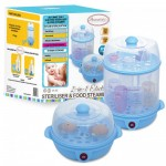 Autumnz - 2-in-1 Electric Steriliser & Food Steamer (Blue)
