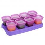 EASY Breastmilk & Baby Food Storage Cups (2oz)- Purple