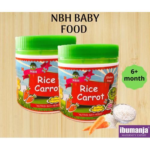NBH BABY FOOD - RICE CARROT