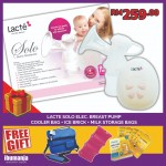 Lacté Solo Electric Breastpump (FREE GIFT B)