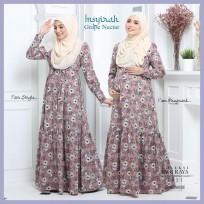 Dress Mengandung Insyirah 2021 - Grape Nectar -