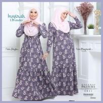 Dress Mengandung Insyirah 2021 - Lavender -