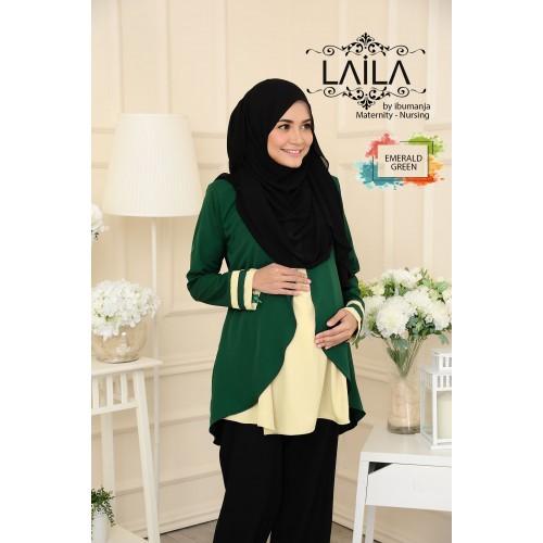 LAILA - EMERALD GREEN