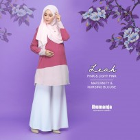 BLOUSE LEAH - PINK&LIGHT PINK
