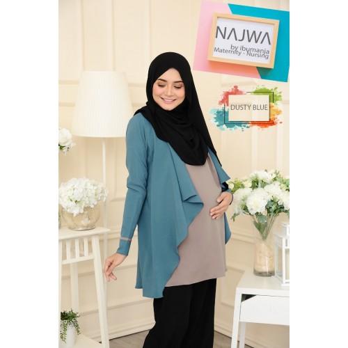 NAJWA - DUSTY BLUE