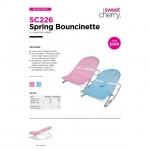 Sweet Cherry SC226 Spring Bouncinette (BLUE)