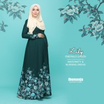 DRESS LILY - EMERALD GREEN