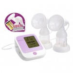 Autumnz - PASSION II (With Rechargeable Batteries) Convertible Double Electric/Manual Breastpump (FREE GIFT A)