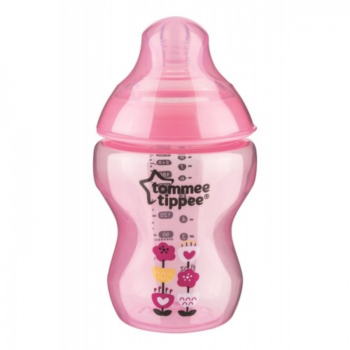 Tommee Tippee - Closer To Nature 9oz PP Tinted Bottle (Single) *Pink*