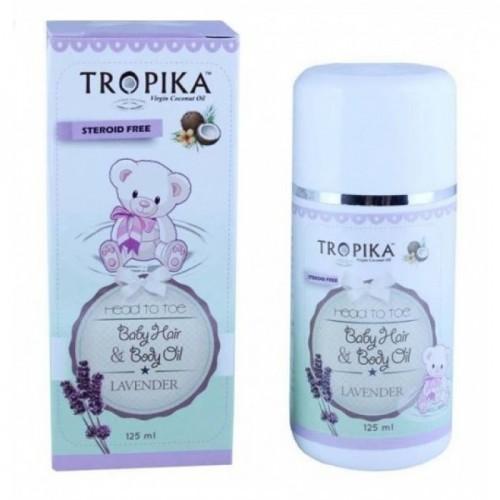 Tropika Baby Hair & Body Oil Lavender 125 ml