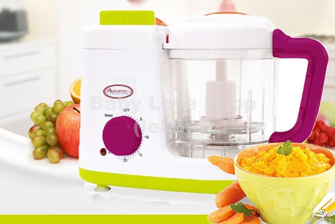 Autumnz 2 In 1 Baby Food Processor Steam Blend